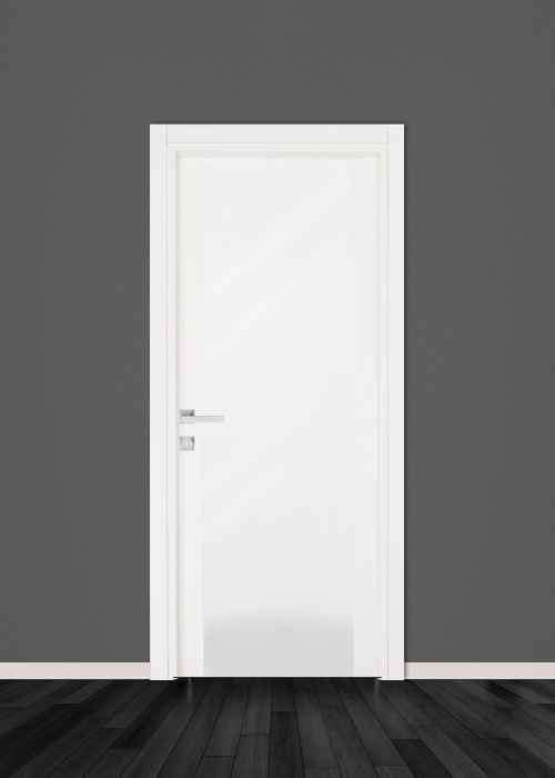 Italian White Door Solide Edge